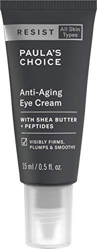 Paula's Choice Resist Anti Aging Augencreme | Reichhaltige Creme Reduziert Falten | mit Shea Butter & Peptide | für alle Hauttypen | 15 ml -