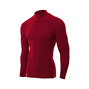 ZEROFIT Heatrub Ultimate - 2 in 1 Thermal Base Layer And Fleece With Compression And Quick Dry Properties For Men/Ladies/Unisex, Red, Small