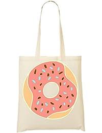 Sprinkled Doughnut Artwork Bolso De Mano Bolsa De La Compra