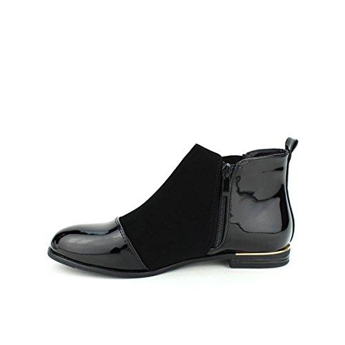 Chaussures BI Bottine Noire Matière Cendriyon CINKS Noir Femme TPXwFPqH