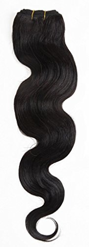 EOZY 26 Pouces Noir Trame de Cheveux Extensions de Cheveux Trame Humaines