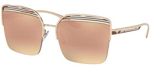 Sonnenbrillen Bvlgari BV 6126 Rose Gold/Rose Gold Shaded Damenbrillen