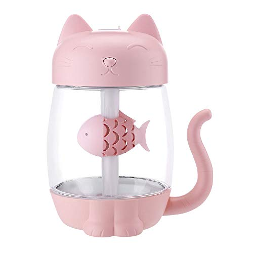 Antennababy Auto Luftbefeuchter Mini Luftbefeuchter, Katze Luftbefeuchter