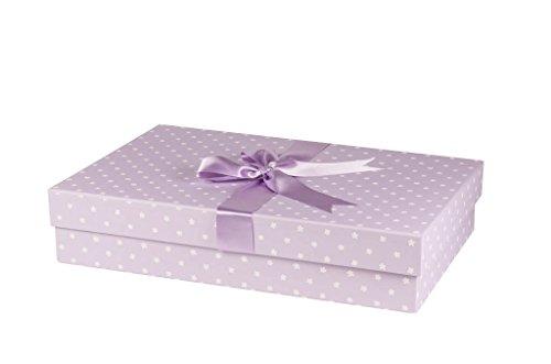 The Wedding Dress Box Company Aufbewahrungsbox für Hochzeitskleid, handgefertigt, einfache Blumen,...