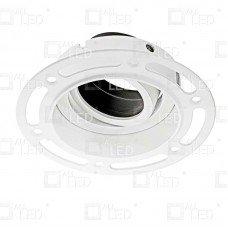 Plaster-in Baffle GU10 Downlight Adlt001bb/MW spot encastré GU10 Downlight