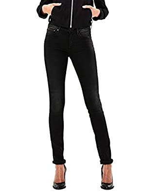 G-Star Raw Womens Black Skinny Fit Jeans