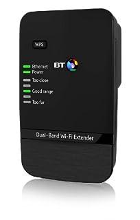 BT Dual-Band Wi-Fi Extender 600 Kit (Booster) - Black (B00D84GVN0) | Amazon price tracker / tracking, Amazon price history charts, Amazon price watches, Amazon price drop alerts