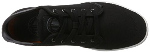 Palladium Desrue Low, Sneakers Basses Homme Noir (Black/castlerock/white)