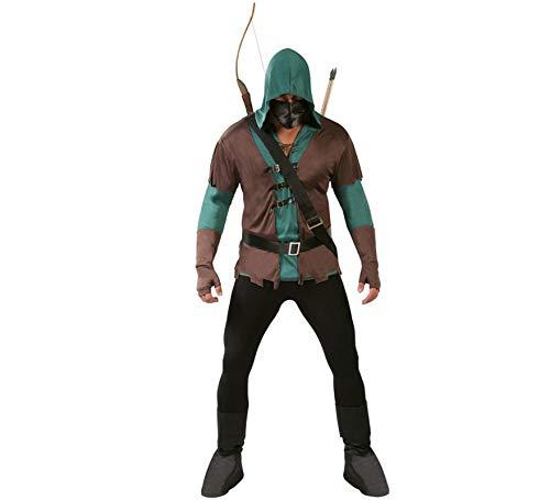 Costume Arrow Robin Hood medievale arciere uomo 80722 Tg.Unica
