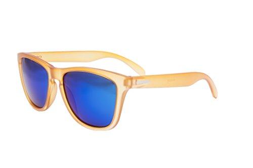 OCEAN SUNGLASSES - Sea - lunettes de soleil polarisÃBlackrolles  - Monture : Jaune Acide - Verres : Revo Vert (40002.38)
