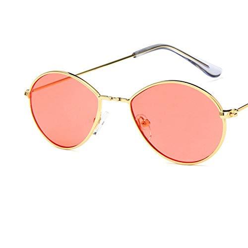 YLNJYJ Sonnenbrillen Mode Marke Design Damen Sonnenbrille Uv400 Roten Ton Farbe Objektiv Drop Typ Persönlichkeit Sonnenbrille Frauen