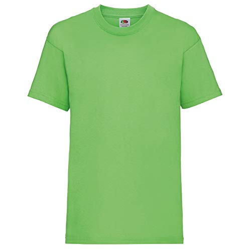 Fruit of the Loom Valueweight T Kids, Farbe:Lime, Größe:128