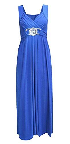 BARAKAH FASHIONS -  Vestito  - Donna Blu reale