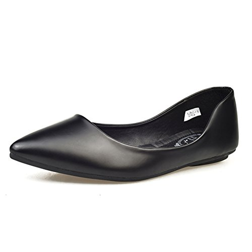 Chaussures pointues fashion Lady leisure/Joker plat/yinglunping avec des chaussures A
