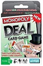 y game t-Hasbro Games Monopoly Deal Card Game for kids and women /men ,vtop