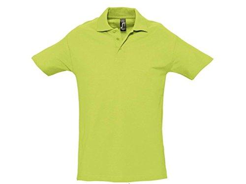 ATELIER DEL RICAMO Herren Poloshirt * Einheitsgröße Apfelgrün