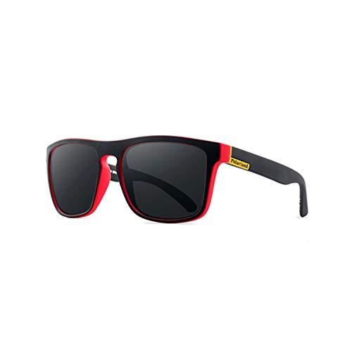 Sportbrillen, Angeln Golfbrille,NEW Polarisiert Sunglasses Men's Driving Shades Male Sun Glasses For Men Retro Cheap Luxury Brand Designer Gafas De Sol Black Red
