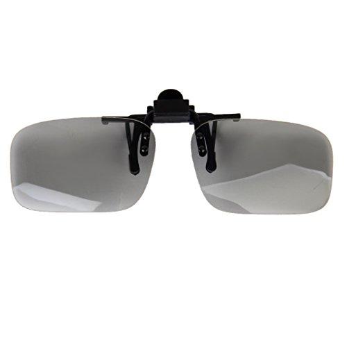 Homyl 2x 3D Brillen Clip für RealD Kino 3D Polarisationsbrille