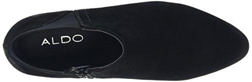 Aldo Damen Siman Chelsea Boots Schwarz (black Suede / 91)