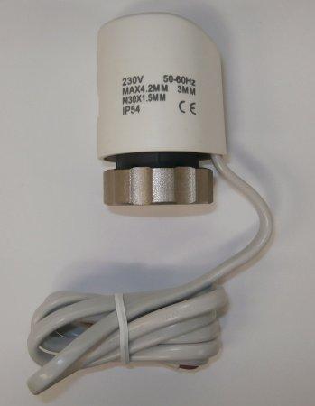 SM-PC®, Stellantrieb 230V Fußbodenheizung stromlos geschlossen #834