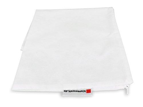 kissenwelt.de Sitzsack Innensack aus Vlies(PP), Größe 140x180 cm, weiß (Die Hälfte Sitzkissen)