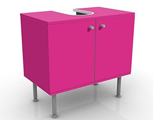 Apalis 72475 Waschbeckenunterschrank Colour Pink, 60 x 55 x 35 cm