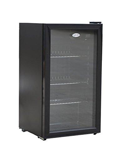 undercounter-chiller-cooler-fridge-black-88-litre-capacity-features-a-tempered-glass-door-opens-both