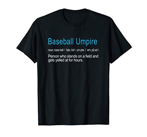 Baseball Umpire Definition Lustiges Geschenk T-Shirt