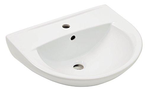 AquaSu 56777 0 Waschtisch Marta 55 cm, weiß,