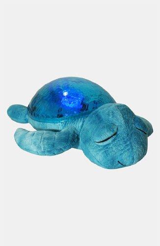 Cloud B 8723540082368 Nachtlicht Schildkröte, mit Licht und Sound, blau (Schildkröte Zwei Licht)