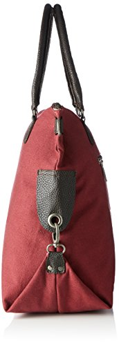 Bags4Less - F3151, Borsa a tracolla Donna Rot (Kirschrot)