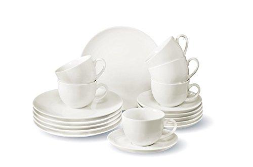 Vivo by Villeroy & Boch Group New Fresh Basic Kaffeeservice für bis zu 6 Personen, 18-Teilig,...