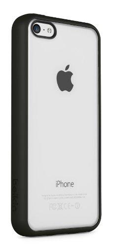 Belkin F8W372B1C00 View Case Schutzhülle (geeignet für Apple iPhone 5C) schwarz Belkin View Case