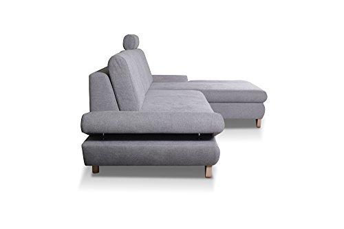 Ecksofa Couch – mb-moebel   Schlaffunktion Eckcouch Bild 2*