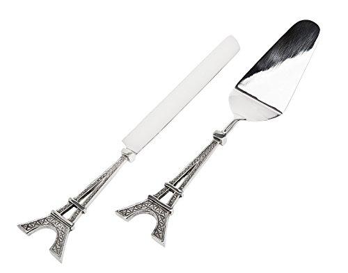 Godinger Eiffelturm Kuchen Messer und Server Set - Godinger Server