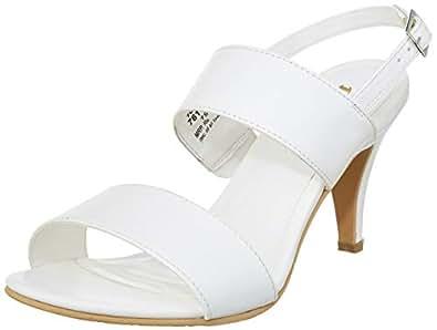 BATA Women's Leslie White Fashion Sandals-3 UK/India (36 EU) (7611070)