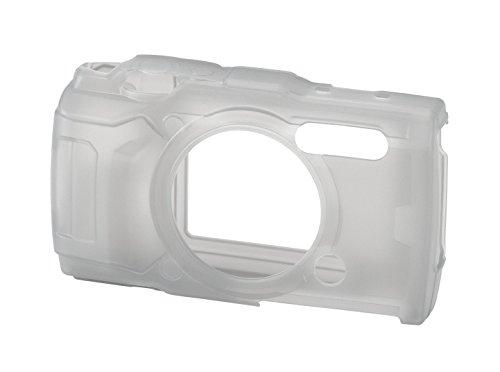 Olympus CSCH-126 Silikonhülle für TG-5 Digitalkamera halb-klar