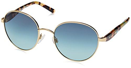Michael Kors Unisex MK1007 Sadie III Sonnenbrille, Gold 10934S, One Size (Herstellergröße: 52)