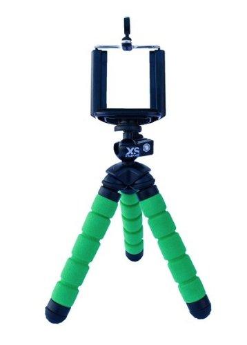 X-Sories, Supporto per telefono / treppiede piccolo, Verde (grün)