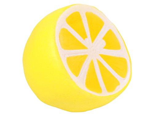 Alsino Squishies Zitrone Squishy Anti Stress Squishi Slow Rising zum Drücken Stressabbau Kinder und Erwachsene SQ-47 -