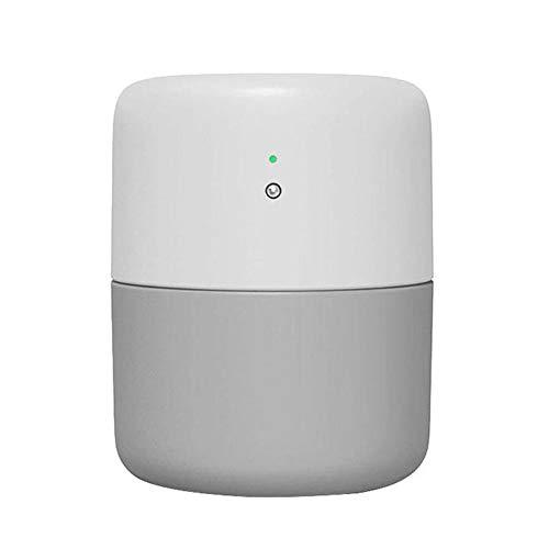 Solar 420 ML USB Desktop Luftbefeuchter, stille Luftreiniger Aroma Ätherisches Öl Diffusor Ultraschall Luftbefeuchter Nebelhersteller, Office Home,Weiß -