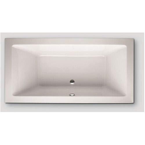 Hoesch SCELTA Acryl-Badewanne Rechteck, 1800 x 900 x 480 mm weiß