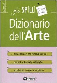 Dizionario dell'arte (Gli spilli)