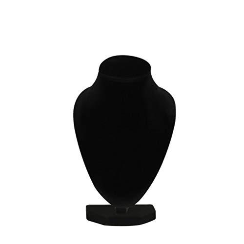 Mouchao Schwarz schaufensterpuppe Halskette schmuck anhänger ständer Halter Zeigen dekorieren -