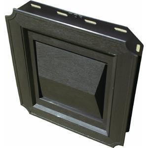 Builder's Best 011717 J-Block Dryer Vent Hood-BROWN J-BLOCK VENT HOOD Block Hood