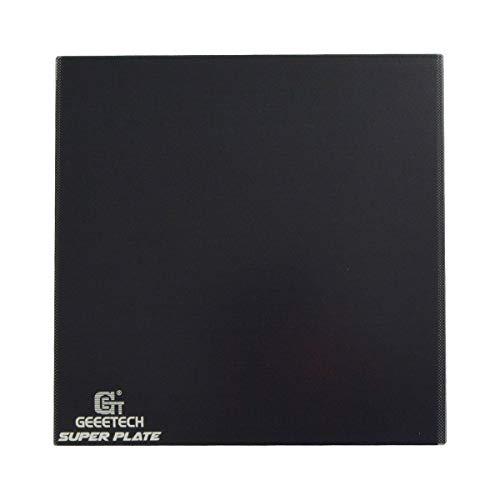 GIANTARM Geeetech Plattformen für 3D-Drucker, Superplate-Glasplattform mit hochleistungsfähiger mikroporöser Beschichtung, 235 * 235 * 4 mm für 3D-Druckerheizbett
