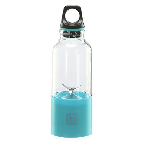 Juicer Cup, Portable 500 ml succo elettrico taglio di ricarica USB Fruit Blender Juice ricaricabile ecologico macchina di miscela, Blu