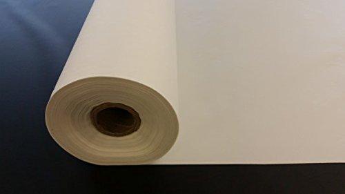 Impermeable, 4oz de poliéster revestido de poliuretano tejido de la funda–Blanco–Por metro