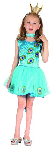 Disfraz pavo real niña - 4 - 6 años