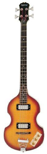 rische Bass-Gitarre (Vintage Sunburst Lack, Ahorn Korpus und Hals, 30.5 Mensur) ()